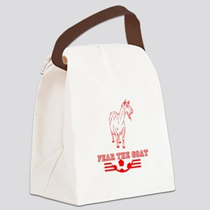 Fear The Goat Canvas Lunch Bag