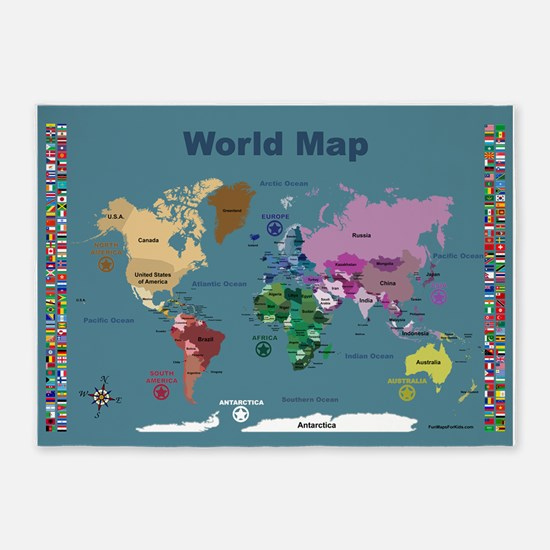 Gifts for interactive world map for kids unique interactive world map for kids with flags gumiabroncs Choice Image