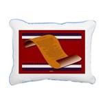 Declaration of IndependenceRectangle Canvas Pillow