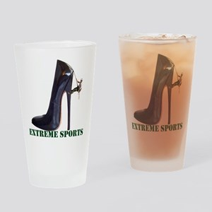 Extreme Sports - Shoe Climbing Drinking Glass