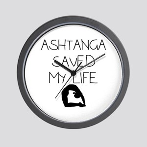 Ashtange Save My Life Wall Clock