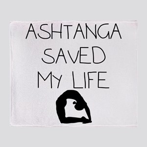 Ashtange Save My Life Throw Blanket