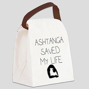 Ashtange Save My Life Canvas Lunch Bag