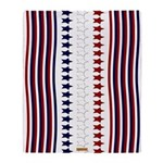 Red White and Blue Throw Blanket