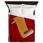 Declaration of Independence Queen Duvet