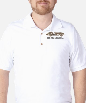 75th Birthday Classic Car Golf Shirt