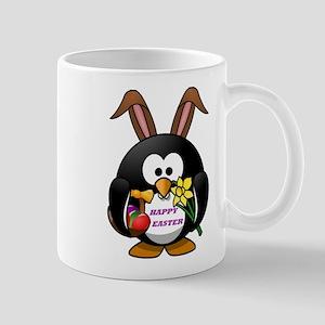 HAPPY EASTER PENGUIN BUNNY Mug