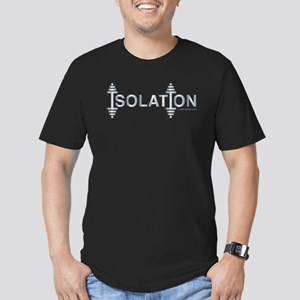 ISOLATION -- Fit Metal Designs Men's Fitted T-Shir