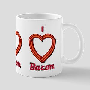 I Heart Bacon Mug
