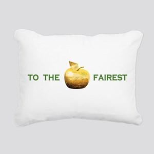 Golden Apple To The Fairest Rectangular Canvas Pil