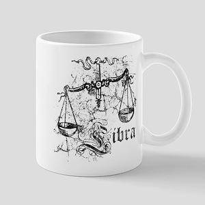 Worn Zodiac Libra Mug