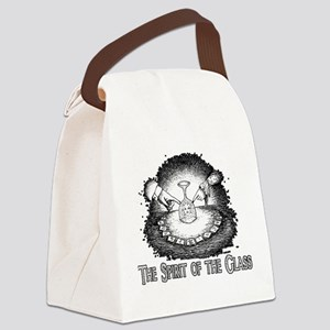 Spirit Of The Glass Canvas Lunch Bag
