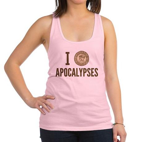 I Love Apocalypses Racerback Tank Top