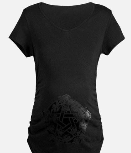 Pentacle With Roses T-Shirt