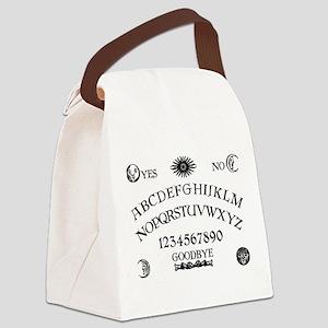 Spirit Board BW Canvas Lunch Bag