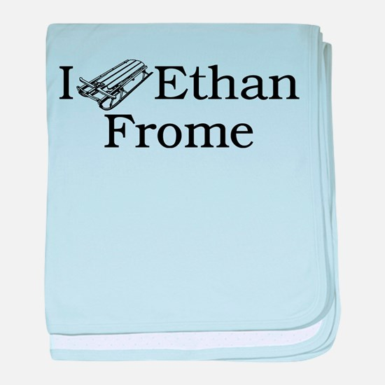 I (Sled) Ethan Frome baby blanket