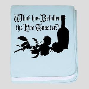 Poe Toaster baby blanket