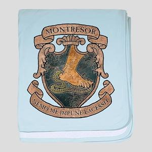 Montresor Coat Of Arms baby blanket