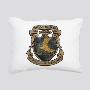 Montresor Coat Of Arms Rectangular Canvas Pillow