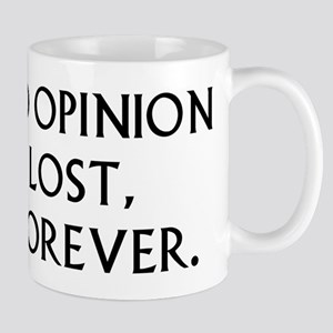 Darcy My Good Opinion Mug