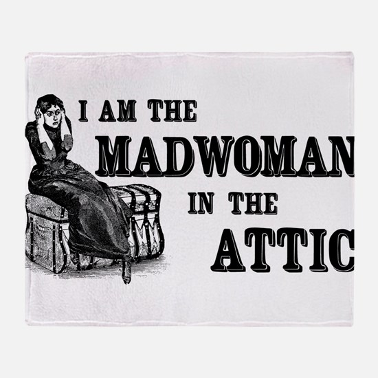 Madwoman In The Attic Throw Blanket