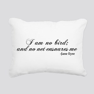 No Net Ensnares Me Rectangular Canvas Pillow