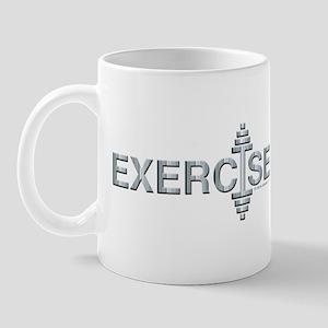 EXERCISE -- Fit Metal Designs Mug