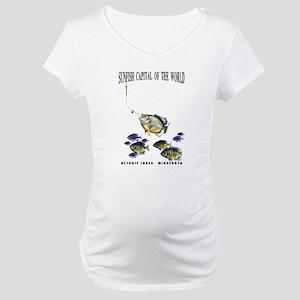 Sunfish Capital, Minnesota Maternity T-Shirt