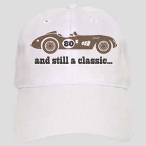 80th Birthday Classic Car Cap