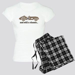 80th Birthday Classic Car Women's Light Pajamas