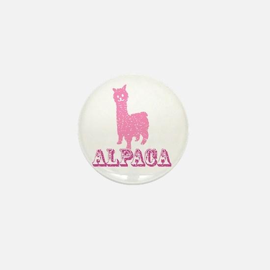 Cute Alpacas Mini Button
