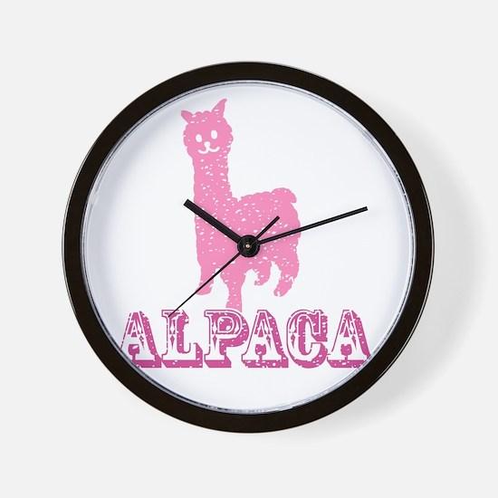 Unique Alpaca Wall Clock