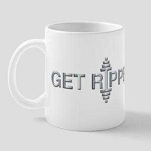 GET RIPPED - Fit Metal Designs Mug