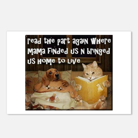 Adopt A Pet Postcards (Package of 8)