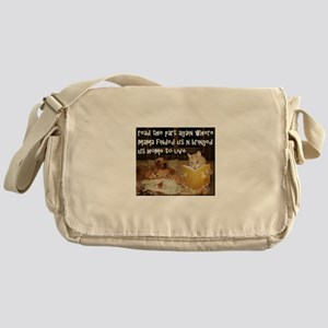 Adopt A Pet Messenger Bag