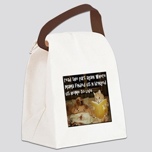Adopt A Pet Canvas Lunch Bag