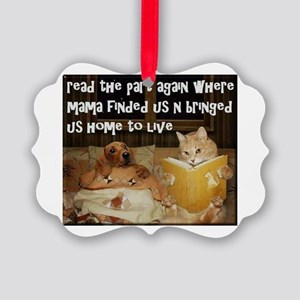 Adopt A Pet Ornament