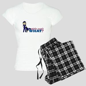 Police K-9 Officer Women's Light Pajamas