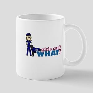 Police K-9 Officer Mug