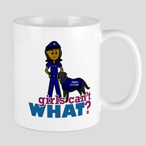 Canine Police Officer Mug