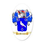 Bevins Oval Car Magnet