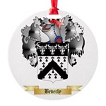 Beverly Round Ornament