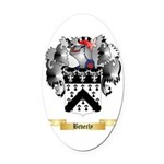 Beverly Oval Car Magnet