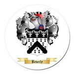 Beverly Round Car Magnet