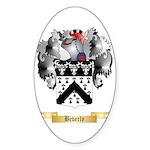 Beverly Sticker (Oval 50 pk)