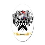 Beverly 20x12 Oval Wall Decal