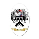 Beverley 20x12 Oval Wall Decal