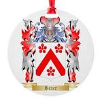 Bever Round Ornament