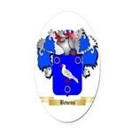 Bevens Oval Car Magnet