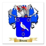Bevans Square Car Magnet 3
